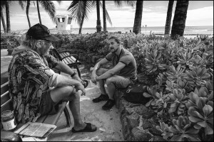 Reporter's Notebook: Telling Stories of Homelessness in Waikiki