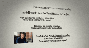 Ad Watch: Colleen Hanabusa's 30 Seconds of Information Overload