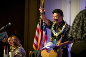 Ad Watch: Shan Tsutsui Reminds Voters Who He Is