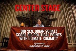 Did Sen. Brian Schatz Score Big Political Points With Climate Summit?