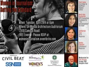 Women in Journalism: Setting The Standard