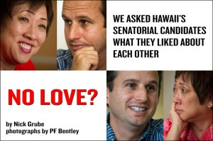 No Love? Hanabusa and Schatz Can't Find Nice Words for Each Other