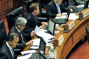 No Conflict? My Law Partner Lobbies This Bill