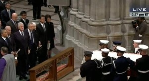 Two U.S. Presidents, Other Dignitaries, Remember Inouye in Washington