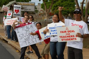 Hawaii Teachers Can't Strike, But They Can Do Only The Minimum