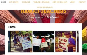 Teachers Union Launches Website for New Contract