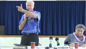 Caldwell Against Gov's Natatorium Plan, Cayetano Wants More Info
