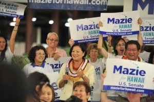 Hirono Trounces Case, Sets Sights On Lingle