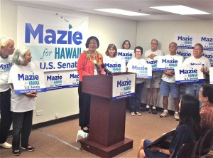 Is Mazie Hirono Getting Nervous?