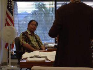 HSTA President Okabe in Labor Board's Hot Seat