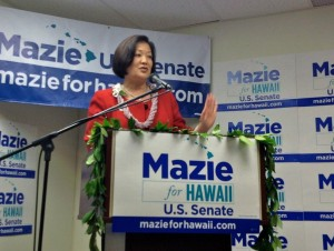 Hirono Won't Debate Case On Top TV Networks
