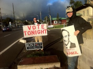 Hawaii Republican Caucuses: Waimea, Hawaii