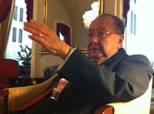 Inouye Says He's a 'Realist' About Rail Project