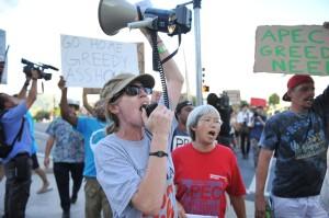 APEC 2011 Hawaii — Protests — Photos by John Hook