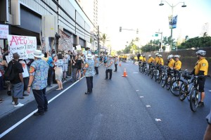 The Big Day of APEC Protests Passes Peacefully