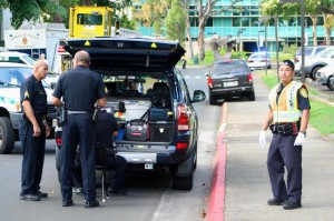 APEC Bomb Scare at University of Hawaii