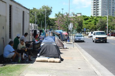 Homeless Woman Set to Return to Mainland Without State Help