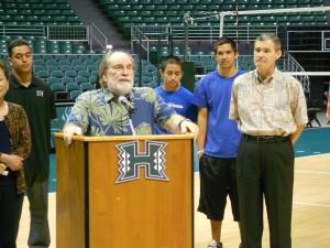 UH Athletes to Hawaii Kids: Don't Be Bullies