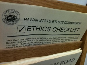 Hawaii Ethics Commission Still Missing a Member