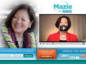 Hirono Leads in Hawaii Senate Fundraising