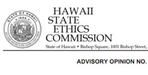 Hawaii Ethics Commission Hasn't Issued Advisory Opinion Since 2006