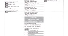 Absentee Ballots Confusing on Their Face