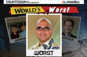 Olbermann: Hawaii GOP Chair 'Worst Person In the World'