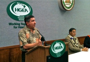 Newsmaker: Watch the Interview With HGEA Executive Director Randy Perreira
