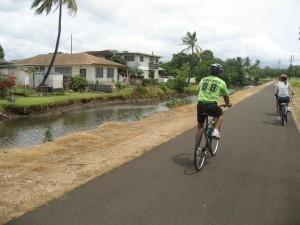 Left By the Side of the Road in Hawaii: Bicycle Improvements
