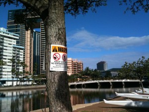 UPDATE: Sewage Spill Contaminates Palolo Stream to Magic Island