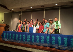 State and County Leaders Pledge Commitment to Hawaii Sustainability
