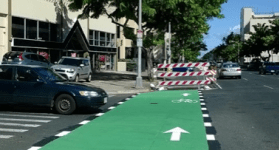 Honolulu Bike Lane: If You Build It, They Will Come