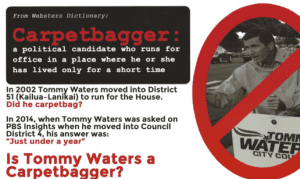 The Case of the Mysterious Attack Ads: Tommy Waters Called a 'Carpetbagger'