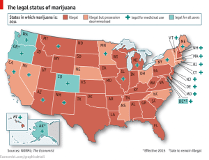 Pot Luck: Mapping America's Marijuana Muddle