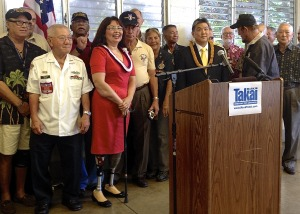 Takai's First Bill: Filipino Veterans Family Reunification Act