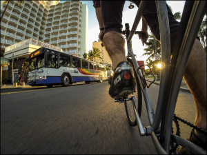 With Tourists Gone, City Will Open Kalakaua to Bikers and Pedestrians
