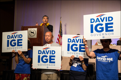 Ige Campaign Chair Resigns