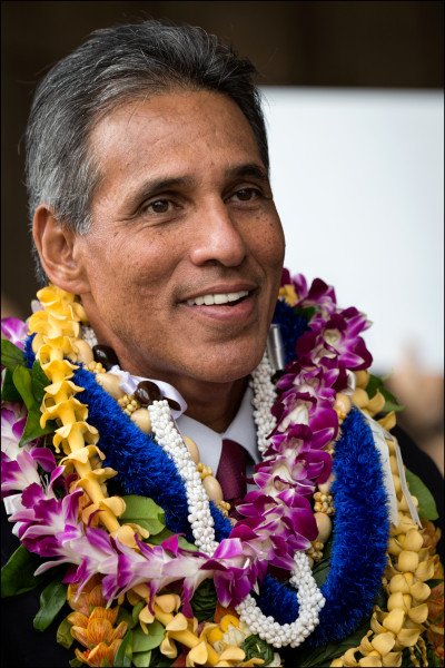 Former Lt. Gov. Duke Aiona at the Hawaii State Capitol. 5.19.14 ©PF Bentley/Civil Beat