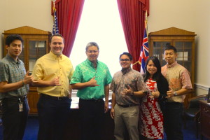 Going to DC on a Friday? Takai Says, 'Wear Aloha'