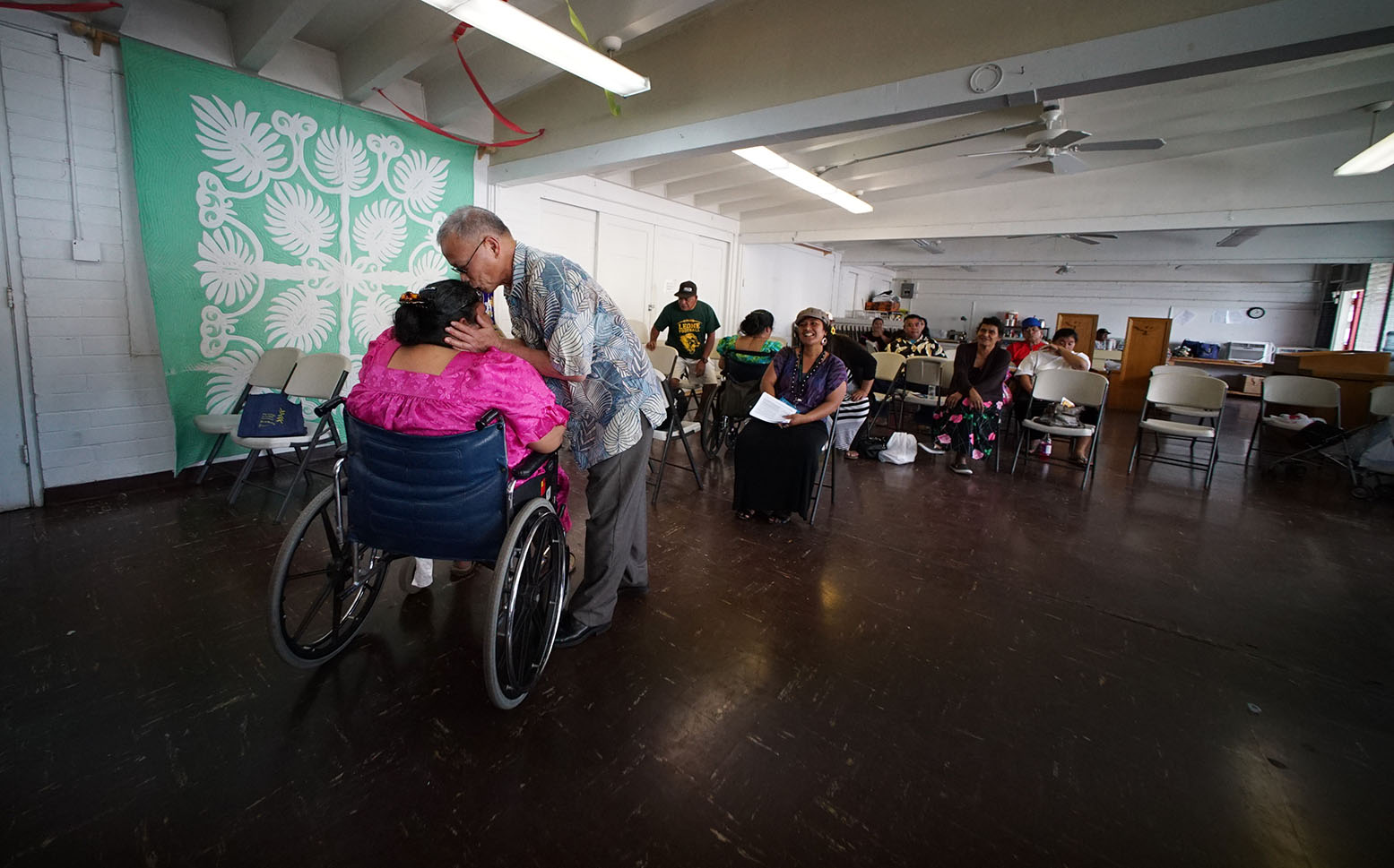 <p>Takesy, who lives in Washington, D.C., said it was important for him to take the time to help immigrants seeking services.</p>