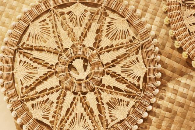 Micronesian Craft art at the Celebrate Micronesia. Honolulu Museum of Art School. photograph Cory Lum/Civil Beat