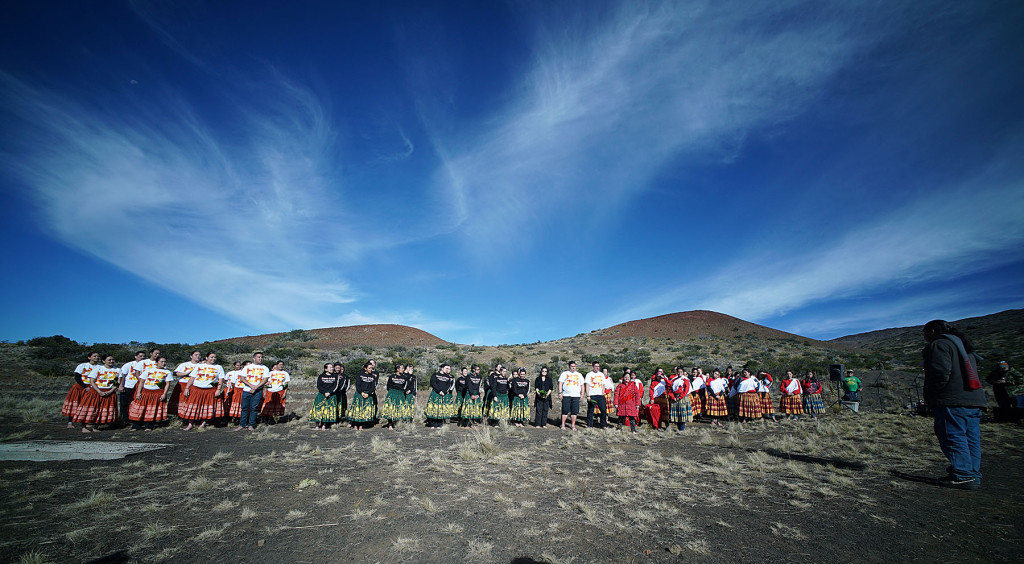Mauna Kea Equals Beauty, Love and Family
