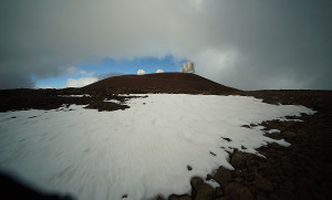 Was a Bullet Fired at a Mauna Kea Observatory?