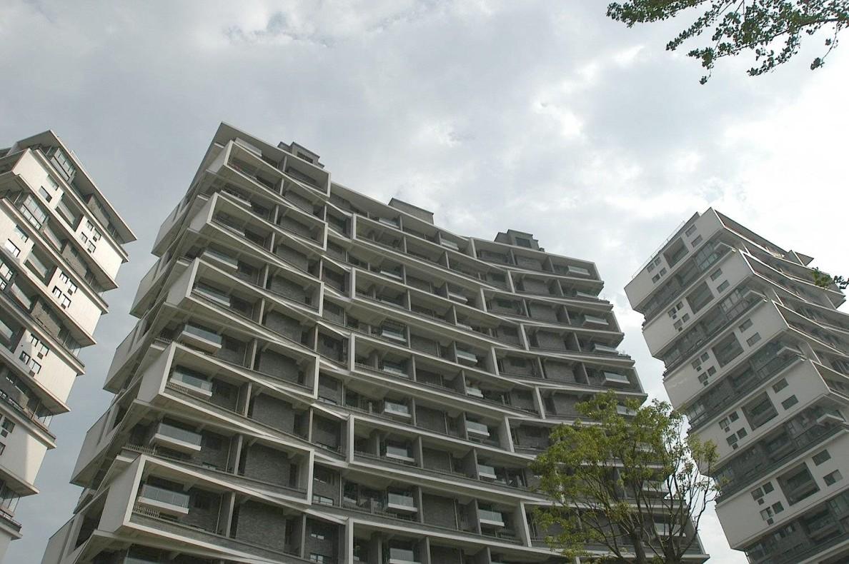 Vertical Courtyard Apartments, Amateur Architecture Studio.