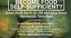 How Can Hawaii Become Food Self-Sufficient?