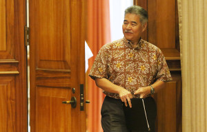 Hawaii Governor Keeps His Official Visitor List Under Wraps