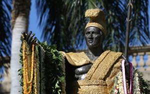 Conservation Work Done On Kamehameha Statue