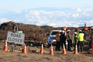 Rocks Removed, But Road Up Mauna Kea Remains Closed