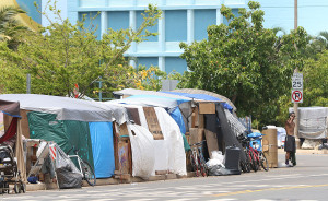 Governor's Office Denies Reported Plan to Move Encampment