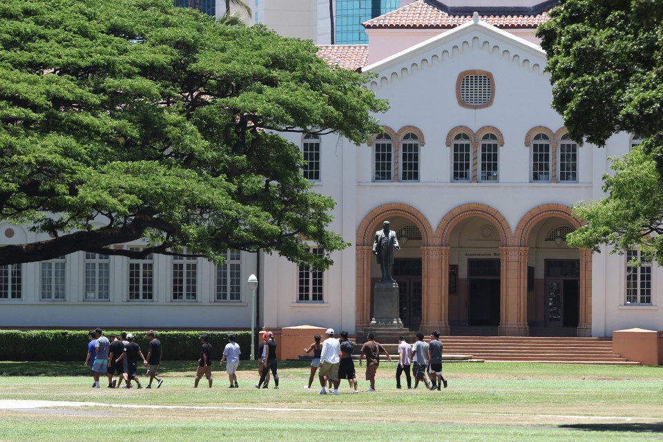 Restore McKinley's Rightful Name: Honolulu High School